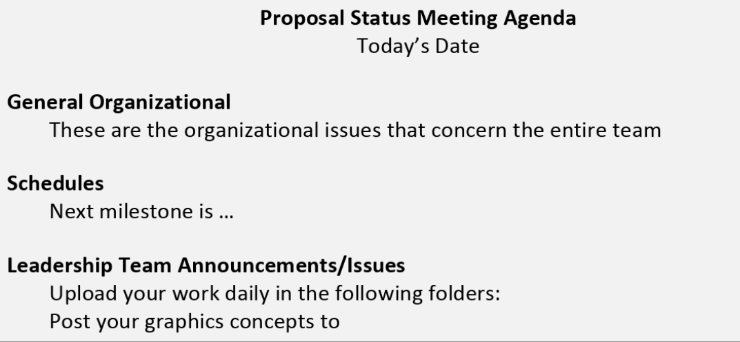 Improving Your Government Proposals' Pwin Follow Proposal Management Best Practices 1