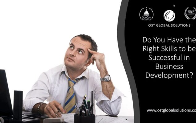 How To Be Successful in Federal Business Development