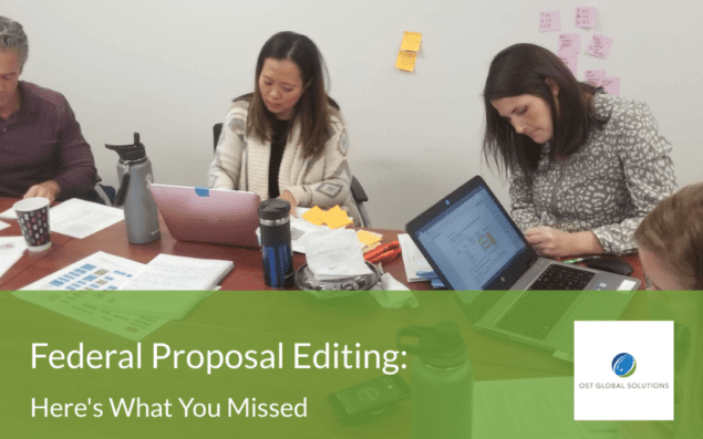 Federal Proposal Editing Here's What You Missed
