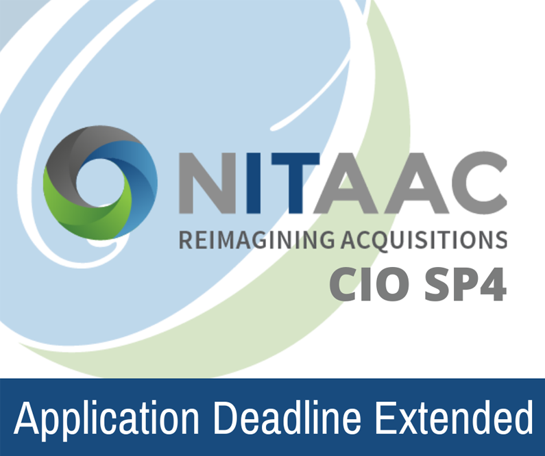 Deadline to Apply for CIO-SP4 Extended