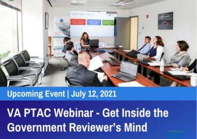 VA PTAC Webinar: Get Inside the Government Reviewer's Mind