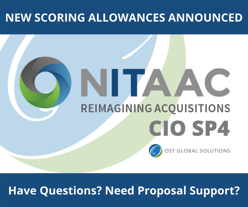 Significant Changes to CIO-SP4 – Take Advantage of New Scoring Allowances!