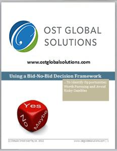 Using a Bid-No-Bid Decision Framework