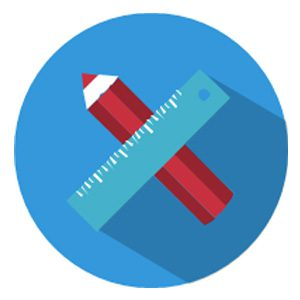 Pencil and ruler icon representing the value of engaging with proposal content.